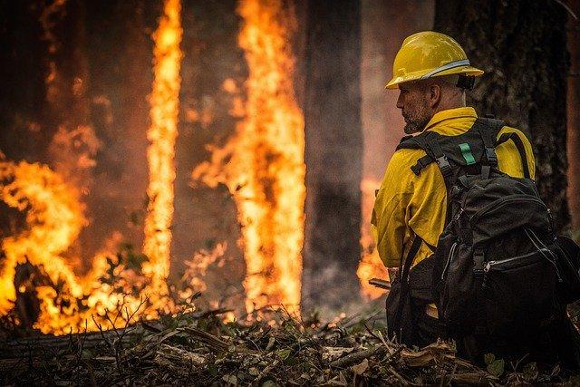 bomberos en el amazonas