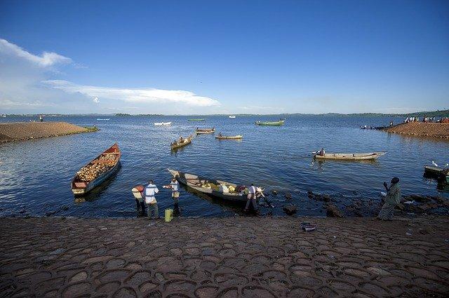 Pescadores de Perca del Nilo