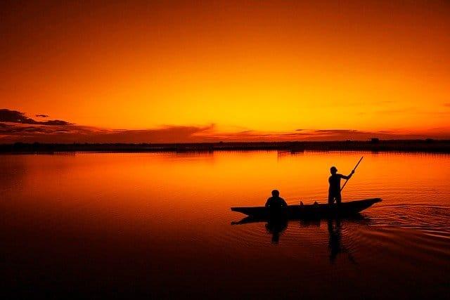 Pescadores del Lago Victoria