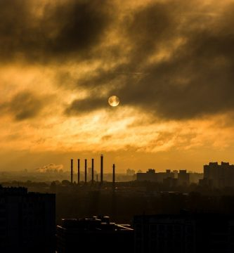 La contaminacion de la atmósfera