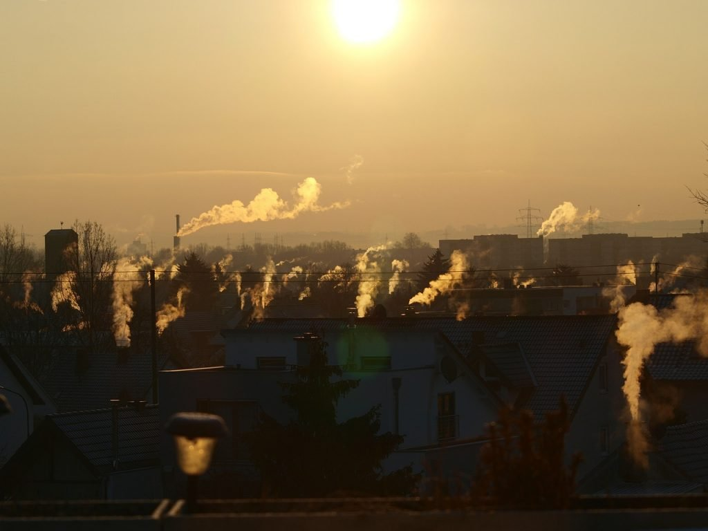 Una atmósfera contaminada
