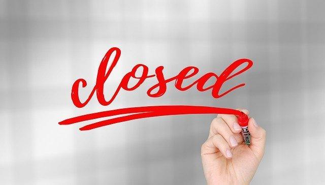 La mayoría de las tiendas se han visto obligadas a cerrar por el Covid-19