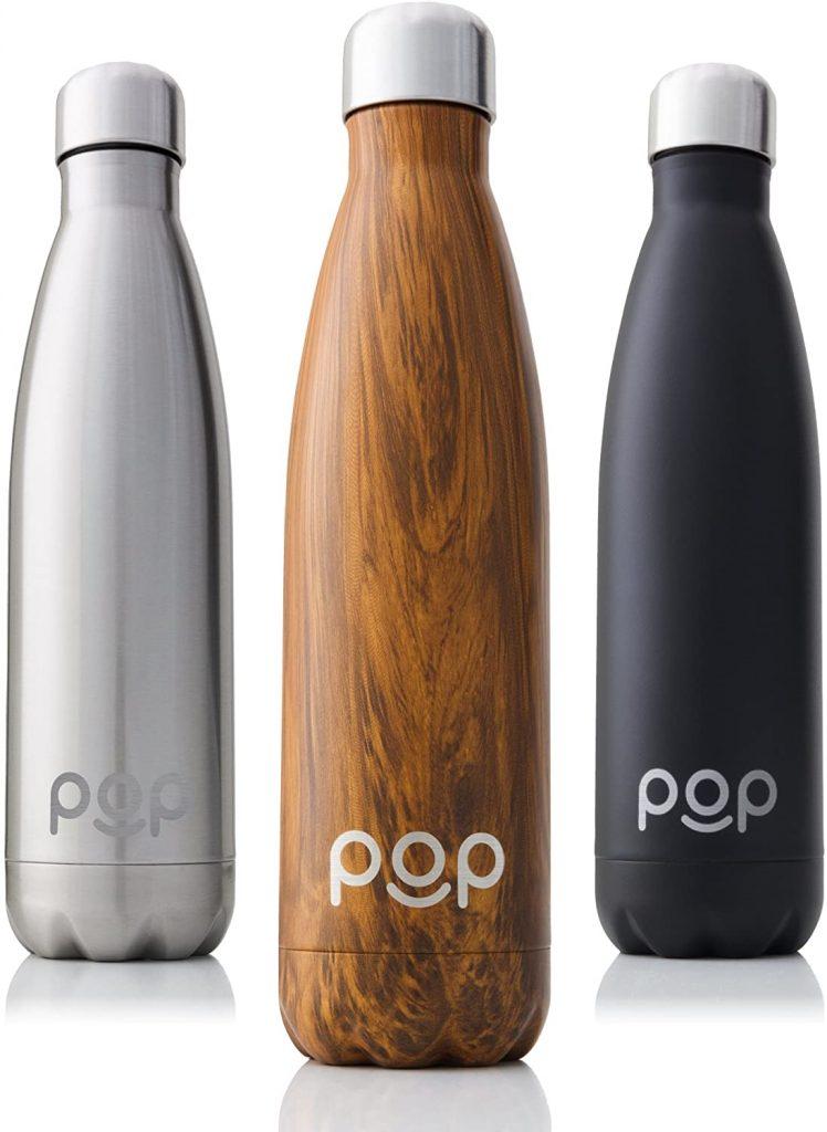 botella reutilizable de acero inoxidable
